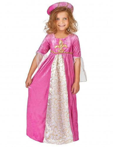 Kostume prinsesse middelalder til piger-1