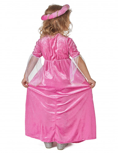 Kostume prinsesse middelalder til piger-2