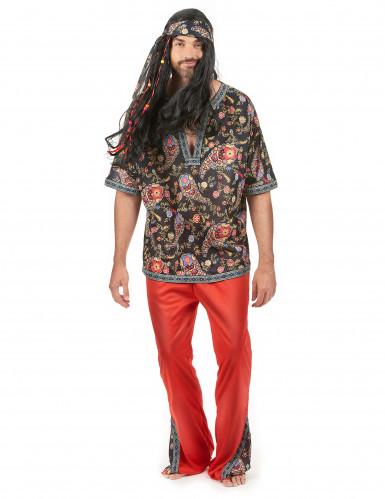 Hippie Mand Kostume