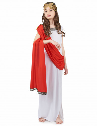Romersk gudindekostume pige
