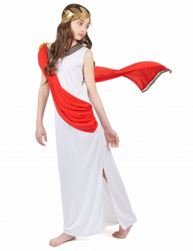 Romersk gudindekostume pige-1