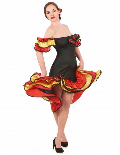 Parkostume flamenco dansere mor og datter-1