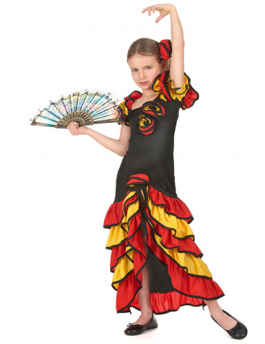 Parkostume flamenco dansere mor og datter-2