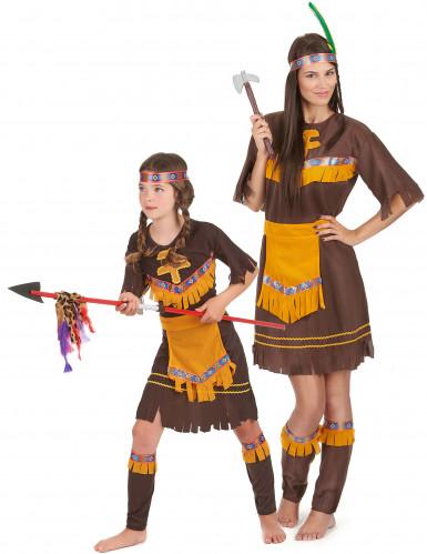 Parkostume squaw mor og datter
