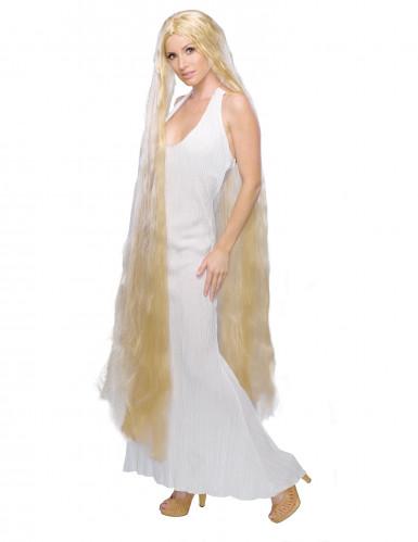 Prinsesseparyk med langt hår til kvinder