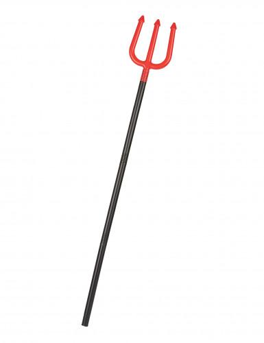 Trefork rød djævel 120 cm