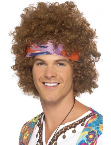 Hippieinspireret brun afroparyk