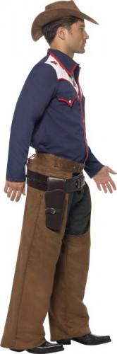 Western cowboykostume til voksne-1