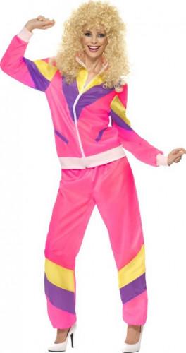 Kostume 80'er joggingsæt til kvinder