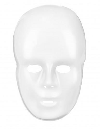 Hvid maske for voksne