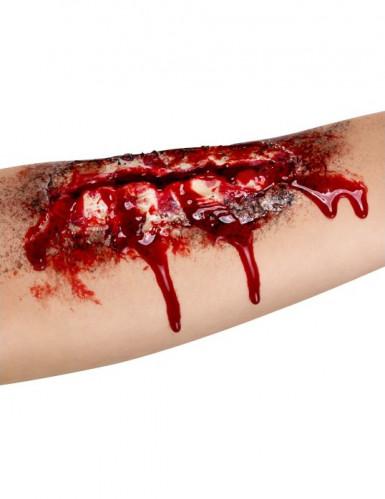 Falsk åbent sår på underarmen