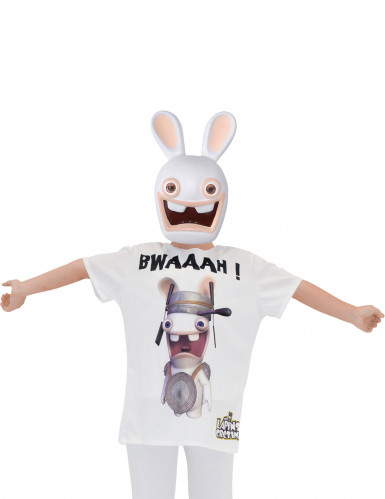 T-shirt og maske kanin Raving rabbids™