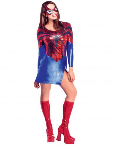 Kostume Spider Girl sexy til kvinder