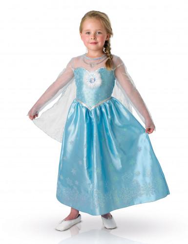 Deluxe Elsa Frost™ kostume til piger