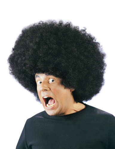 Stor afro paryk
