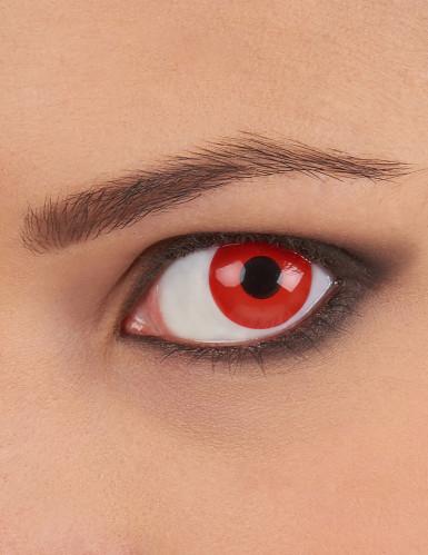 Røde kontaktlinser til voksne