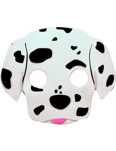Dalmatinermaske til børn