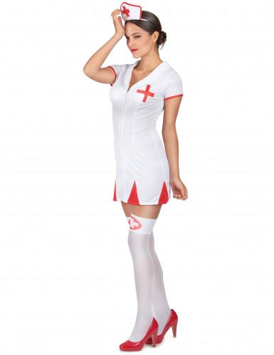 Sygeplejerskekostume Kvinde-1