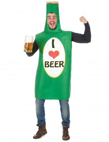 Ølflaske Kostume