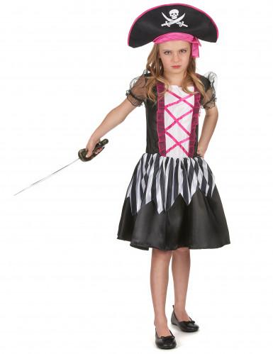 Miss Pink - Piratkjole til piger