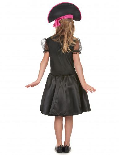 Miss Pink - Piratkjole til piger -2