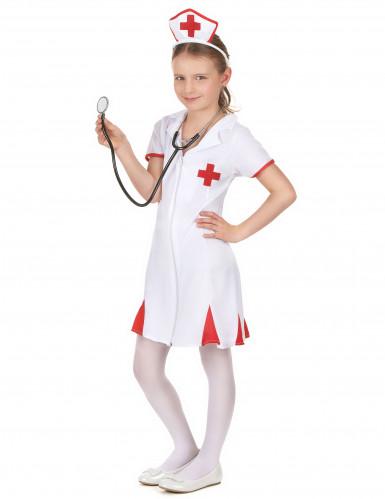 Kostume sygeplejerske til piger-1