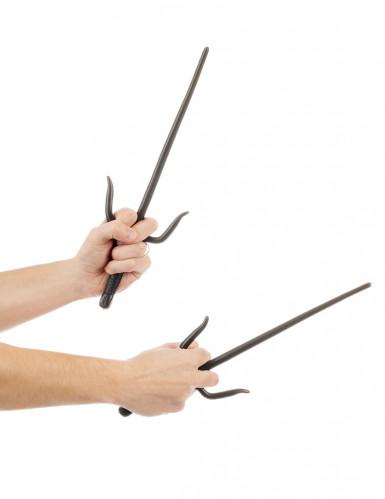 Ninjaknive i plast 36 cm-1