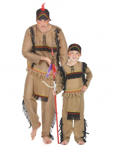 Parkostume apache far og søn