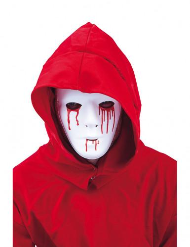 Blodtårer maske mand