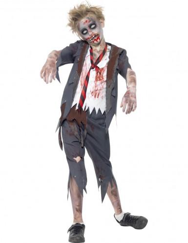 Zombiekostume skoledreng
