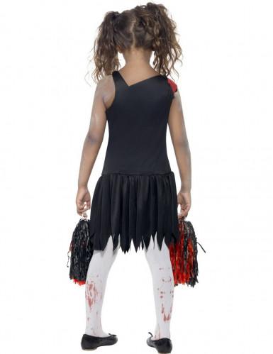 Zombie-cheerleader kostume til piger-2