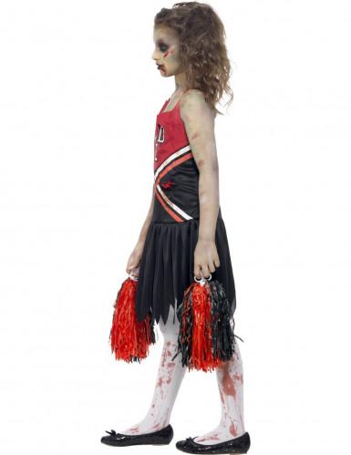 Zombie-cheerleader kostume til piger-1