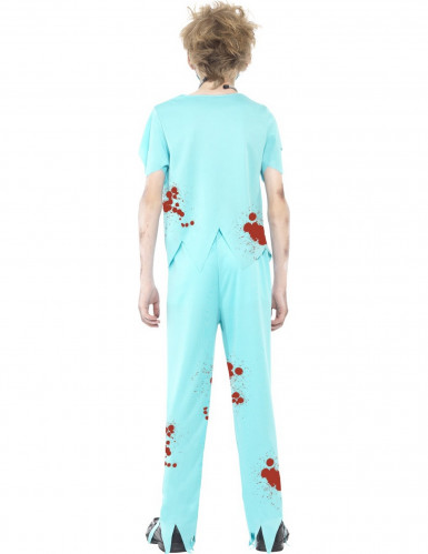 Kostume zombie doktor til børn Halloween-2