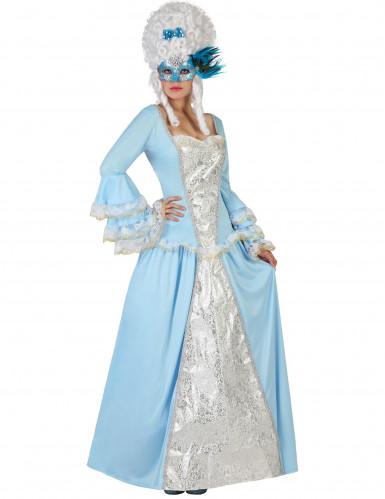 Kostume barokprinsesse voksen