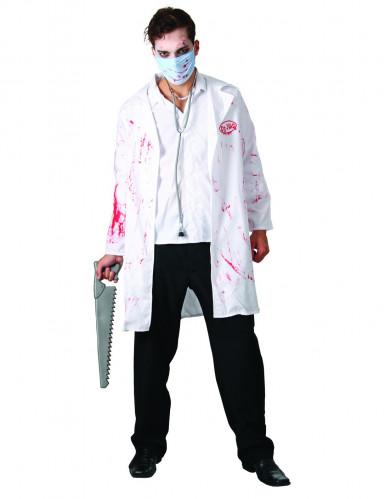 Blodig kirurg Halloweenkostume