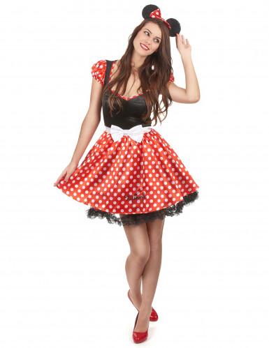 Udklædningsdragt Minnie Mouse™ voksen