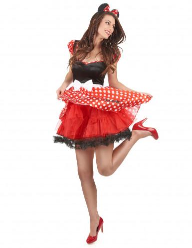 Udklædningsdragt Minnie Mouse™ voksen-1