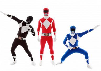 Gruppekostume Morphsuits™ Power Rangers™