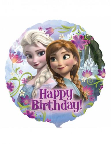 Happy Birthday aluminiumsballon - Frost™
