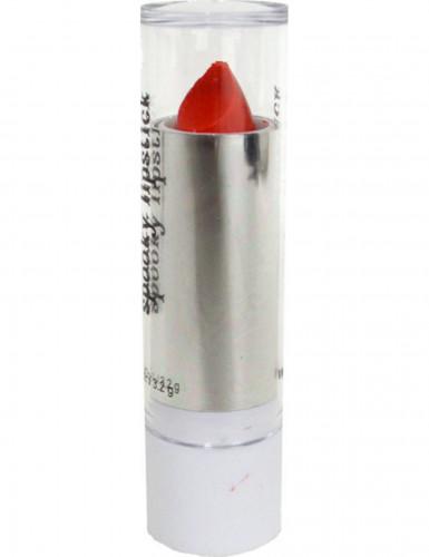 Neonrød læbestift