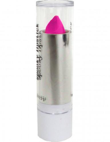Neonlyserød læbestift