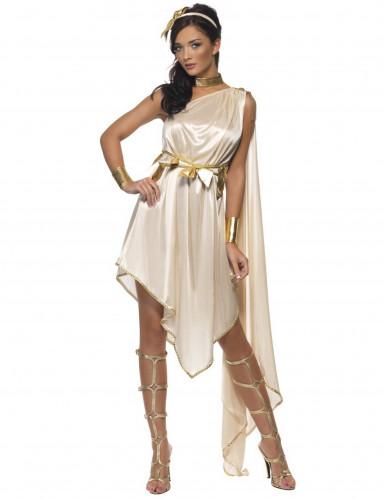 Kostume gudinde beige kvinde