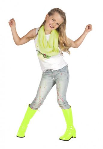 Neon gule støvler til børn