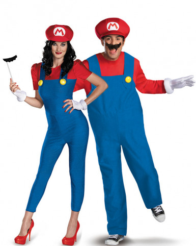 Parkostume Mario™ voksen