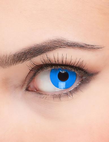 Kontaktlinser blå øjne