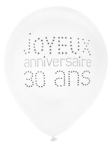 Ballon 8 stk. 30 års