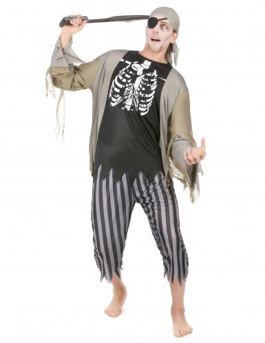 Piratzombie Mand Kostume