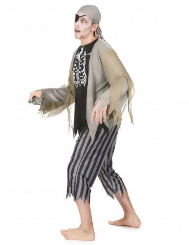 Piratzombie Mand Kostume-1