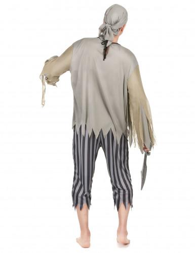 Piratzombie Mand Kostume-2