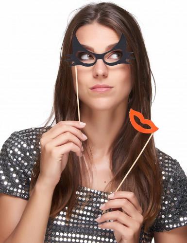 Photokit 12 stk. briller og moustaches-2